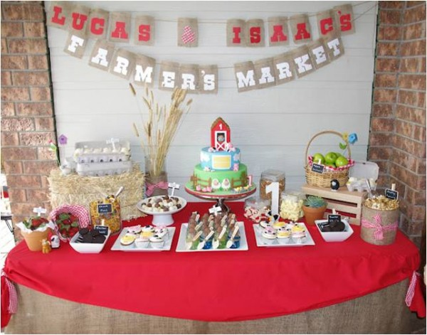 Western Cake Table Decorations