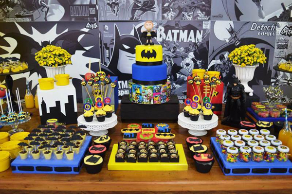 decoracao festa batman : decoracao festa batman:decoracao festa batman – Amarelo Ouro